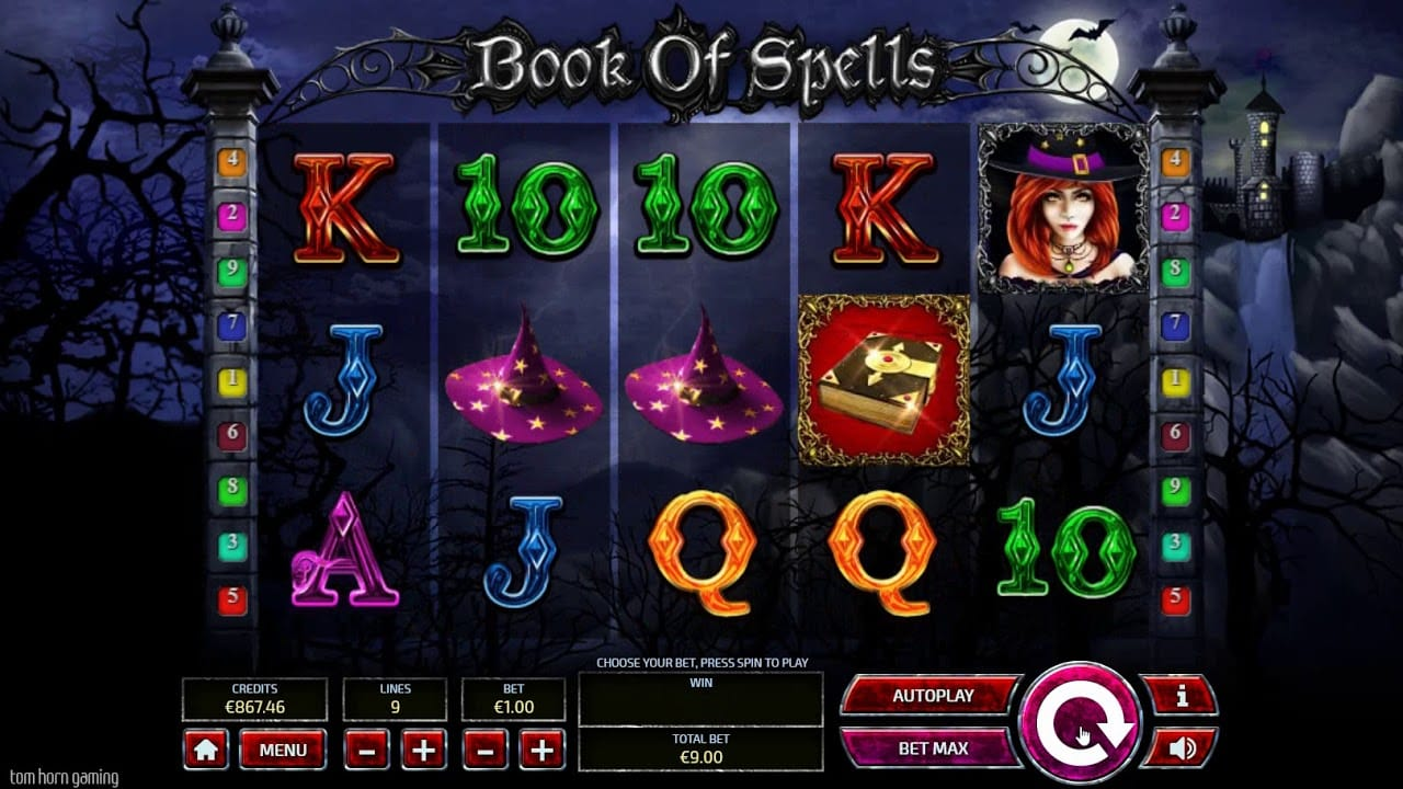 Book of Spells Casino Games