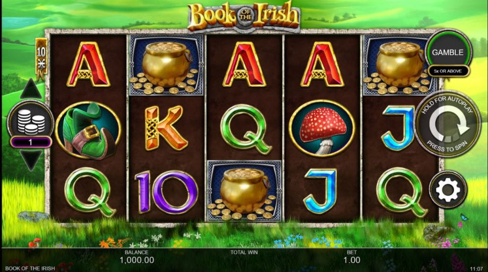 Book of the Irish Free Slots