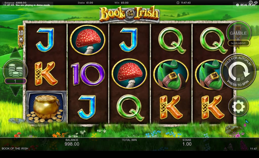 Book of the Irish Slot Online