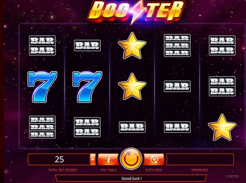Booster Slot Logo Slot Gameplay