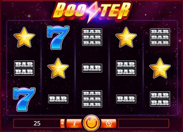 Booster Slot Logo Slot Reels