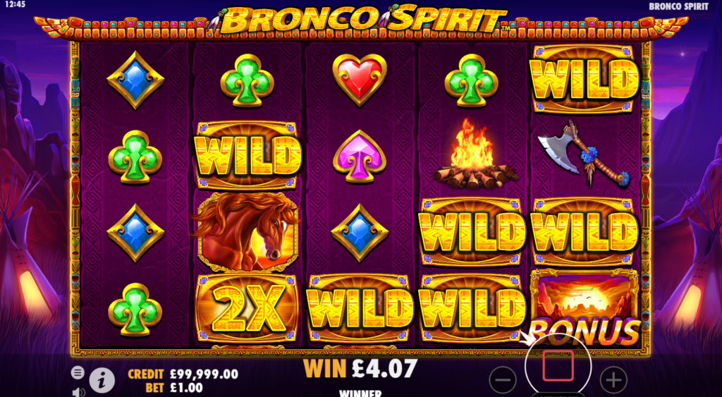 Bronco Spirit Slot Wild