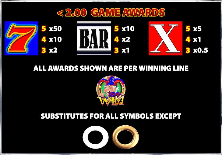 Cash Stax Slot Symbols