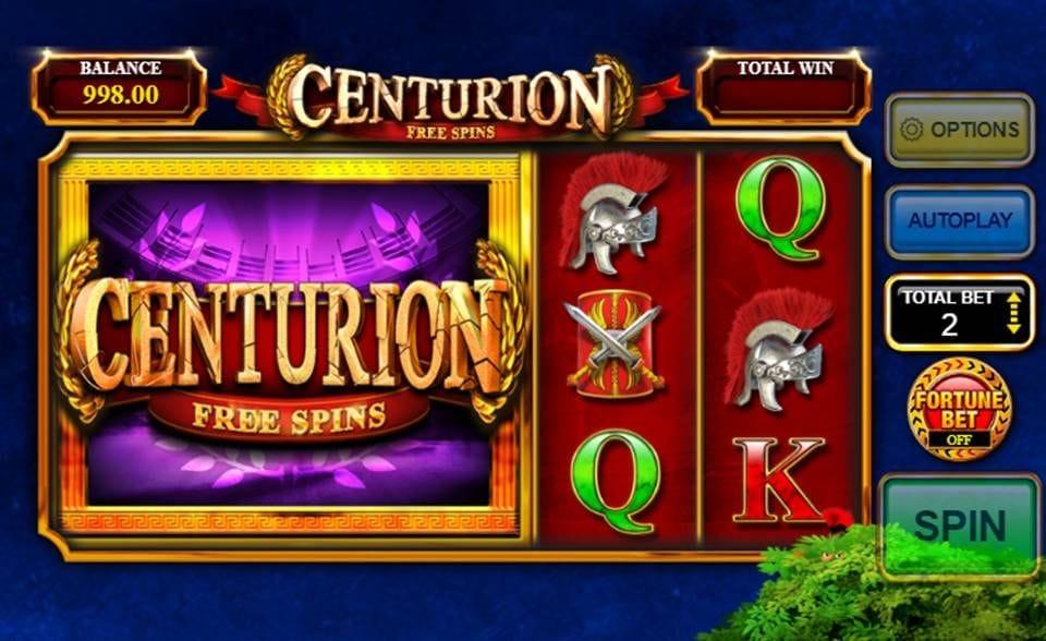 Centurion Free Spins Free Slots