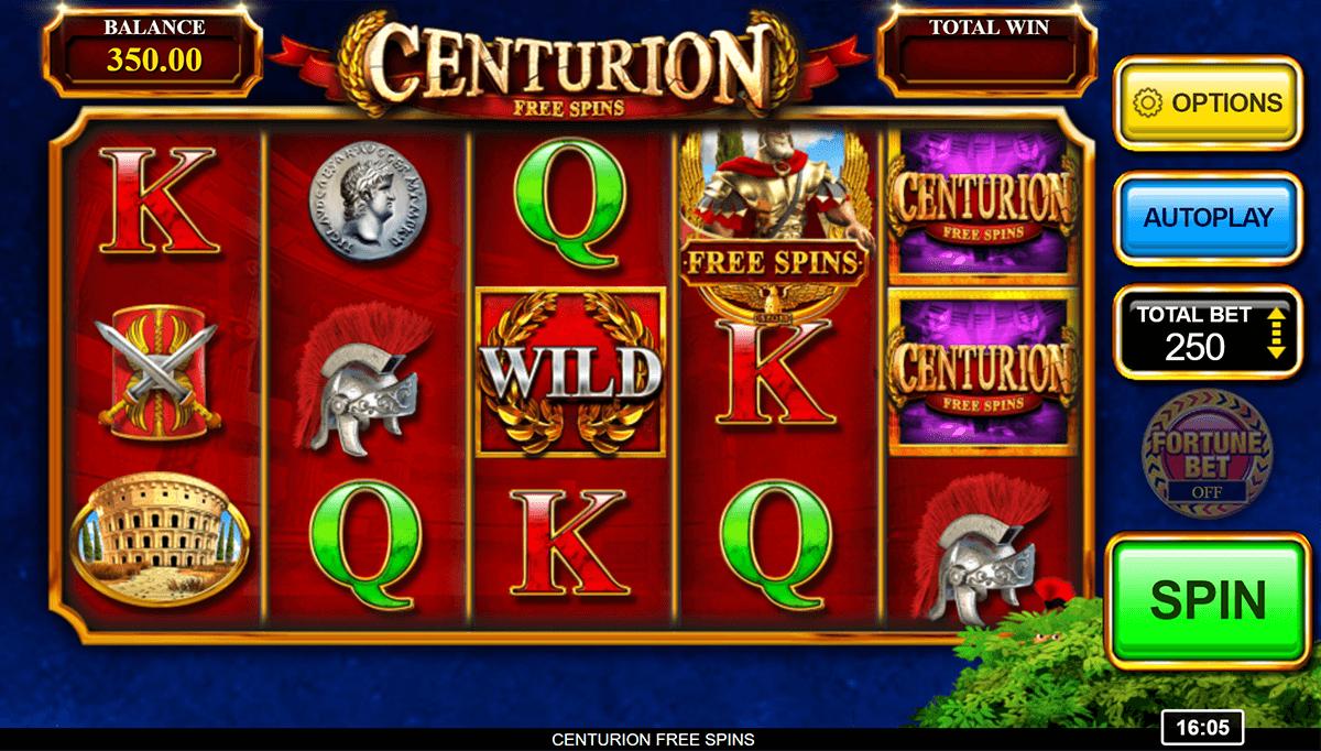Centurion Free Spins Slot Game