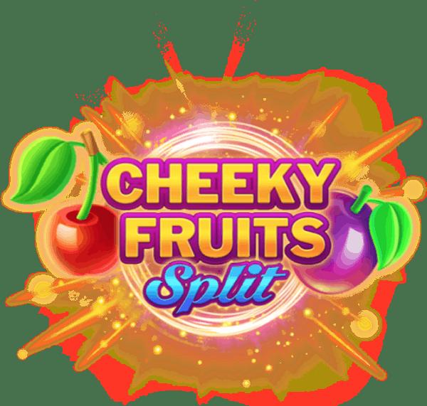 Cheeky Fruits Split Slot Banner