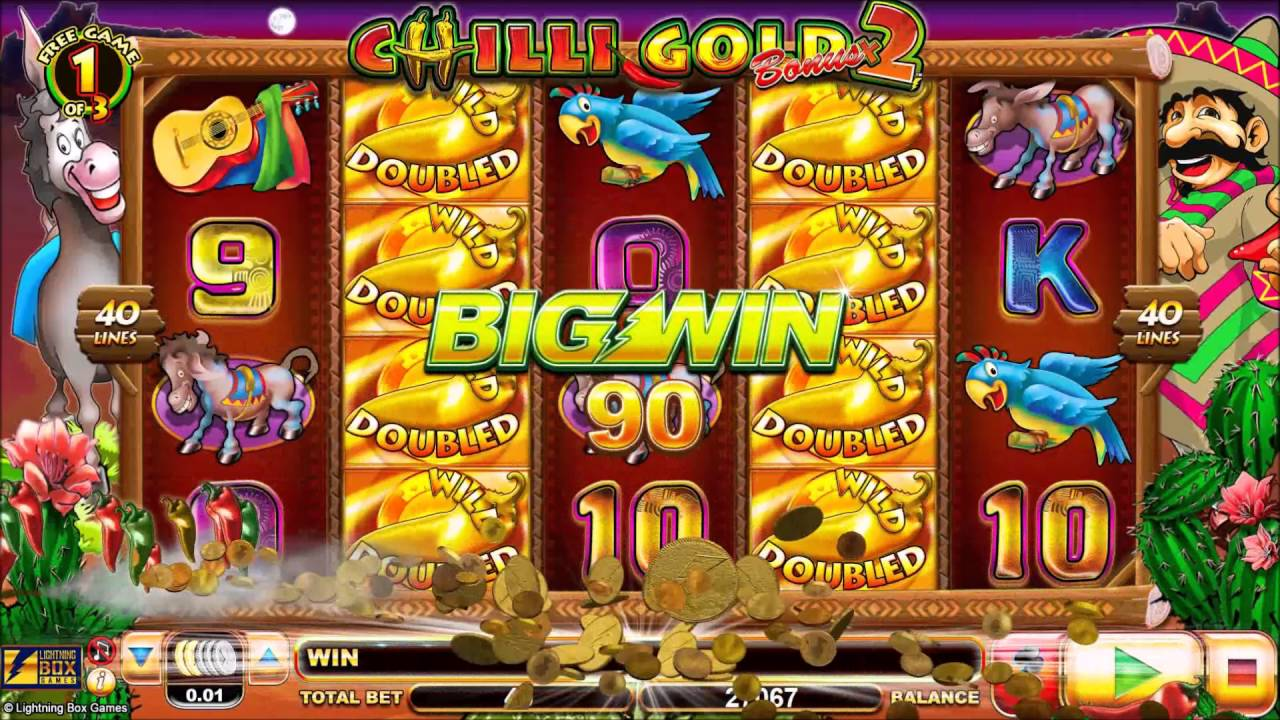 Chilli Gold 2 Slot Big Win
