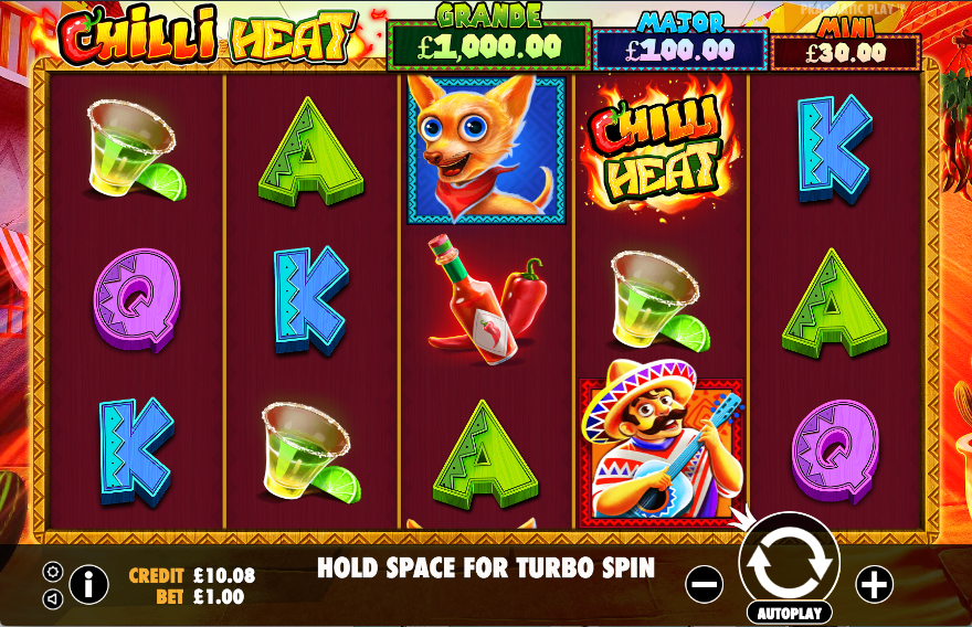 Chilli Heat Gameplay Casino