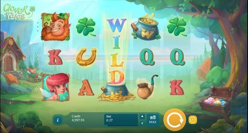 Clover Tales Slots UK