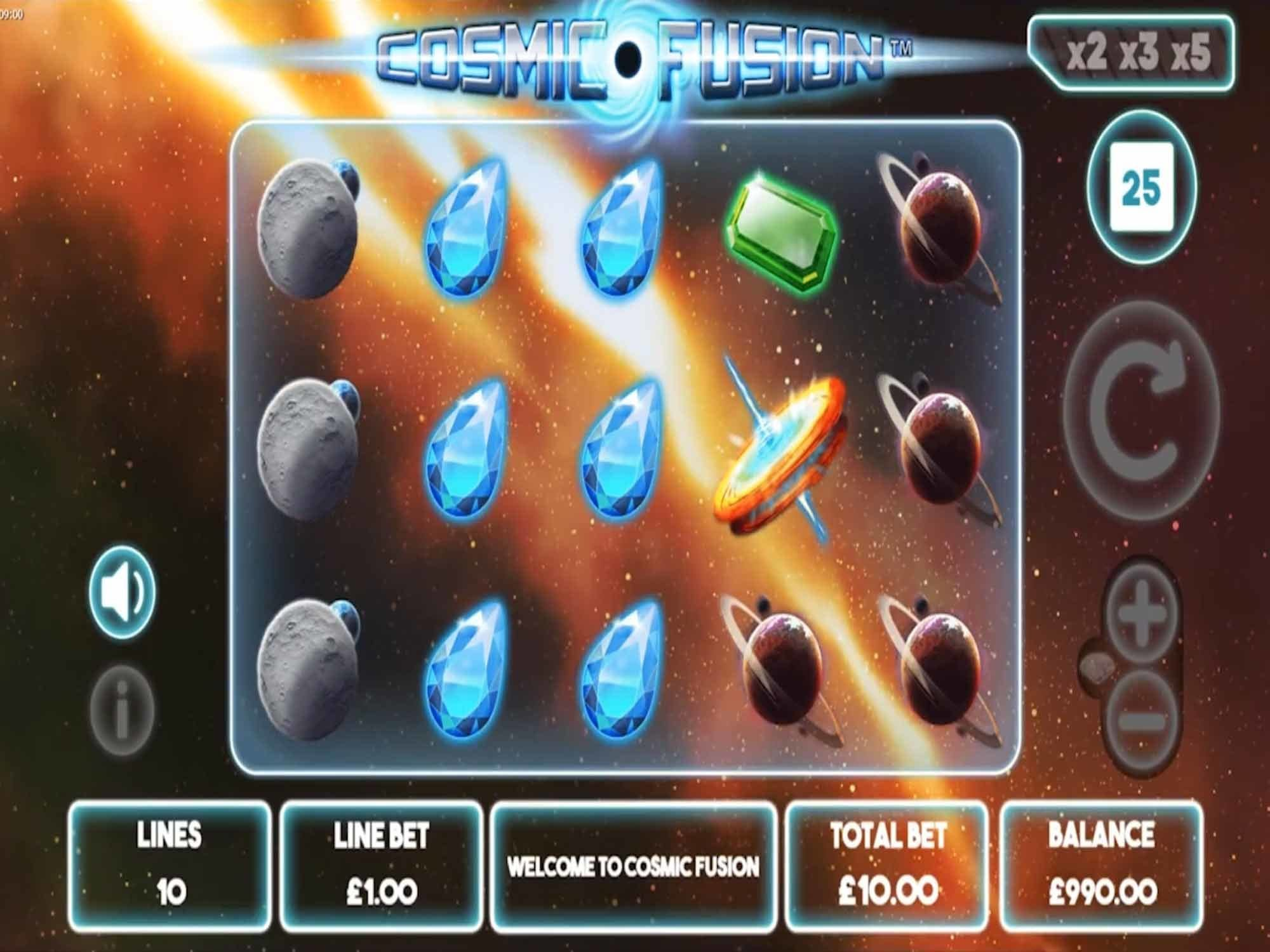 Cosmic Fusion Slots Online