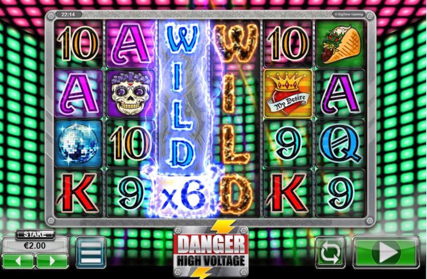 Danger! High Voltage Slot Gameplay