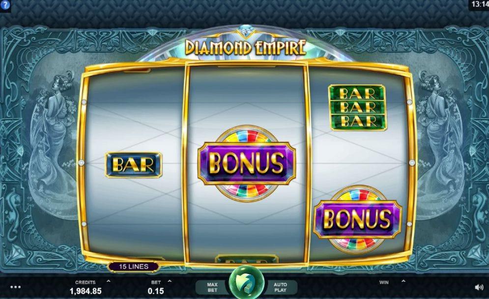 Diamond Empire Slots Bonus