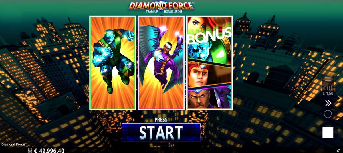 Diamond Force Slots Game