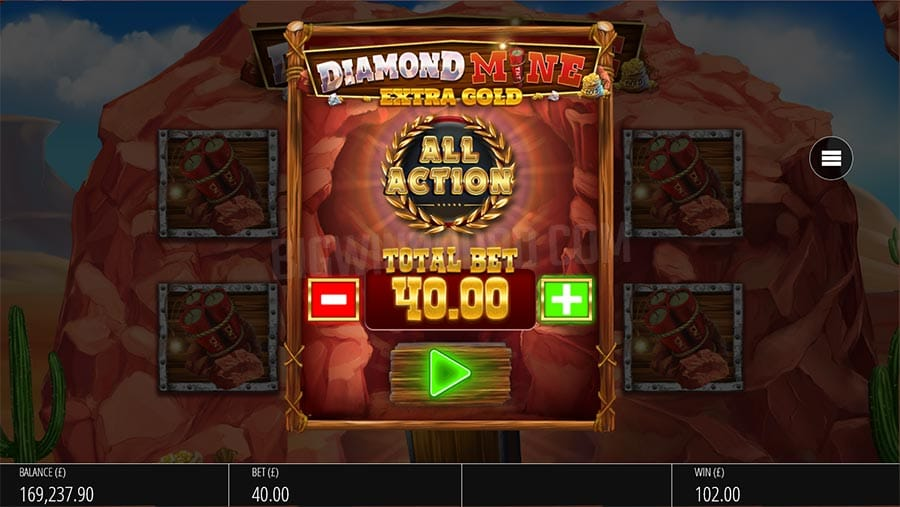 Diamond Mine Extra Gold Free Slots