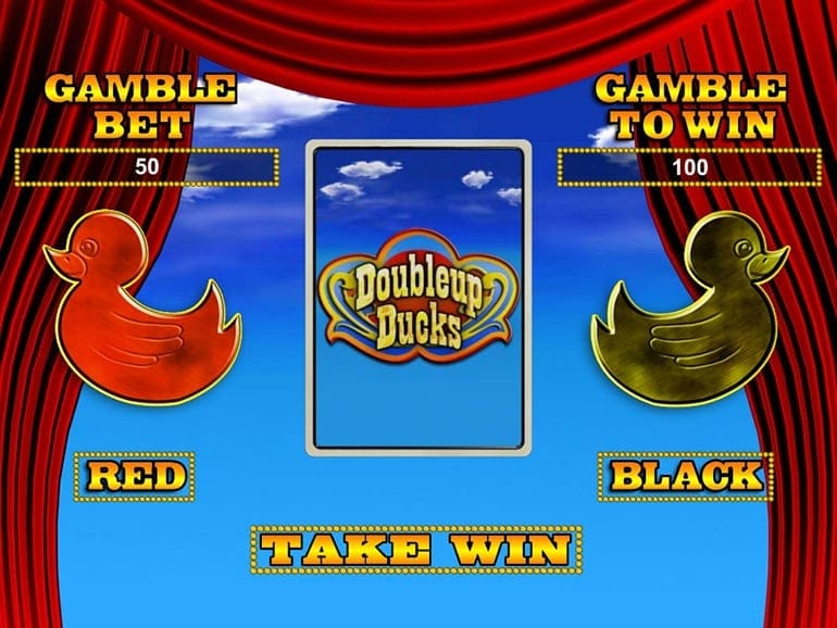 DoubleUp Ducks Slot Bonus Game