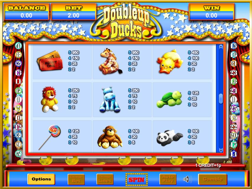 DoubleUp Ducks Slots Online