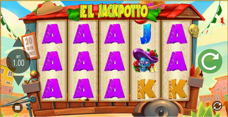 El Jackpotto Slots Gameplay