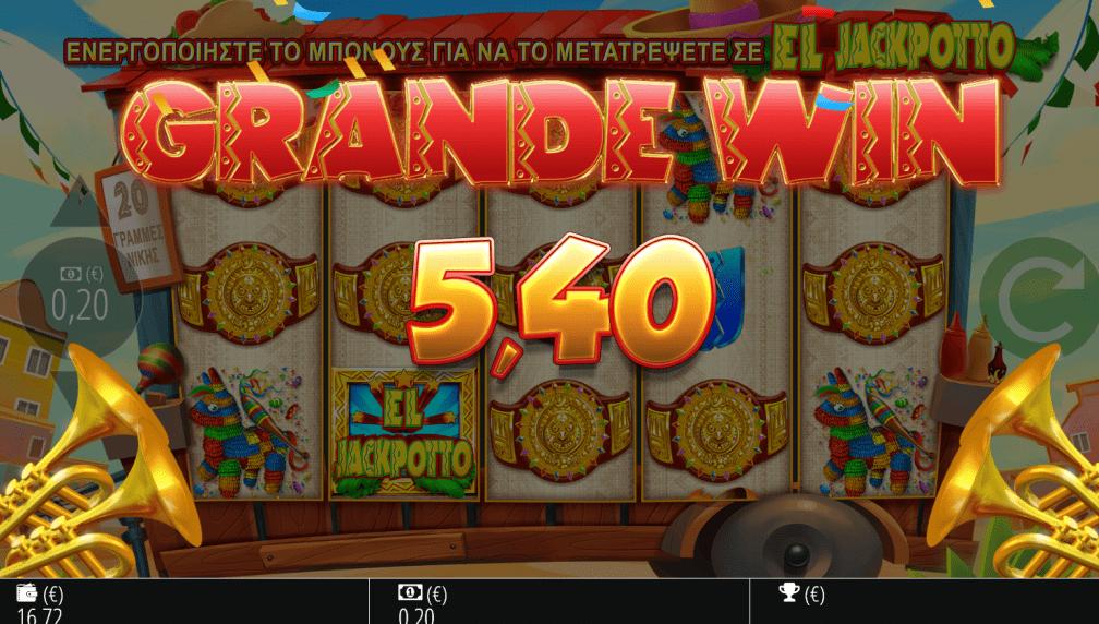 El Jackpotto Slots Big Win