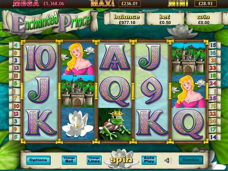 Enchanted Prince Jackpot Slot Game