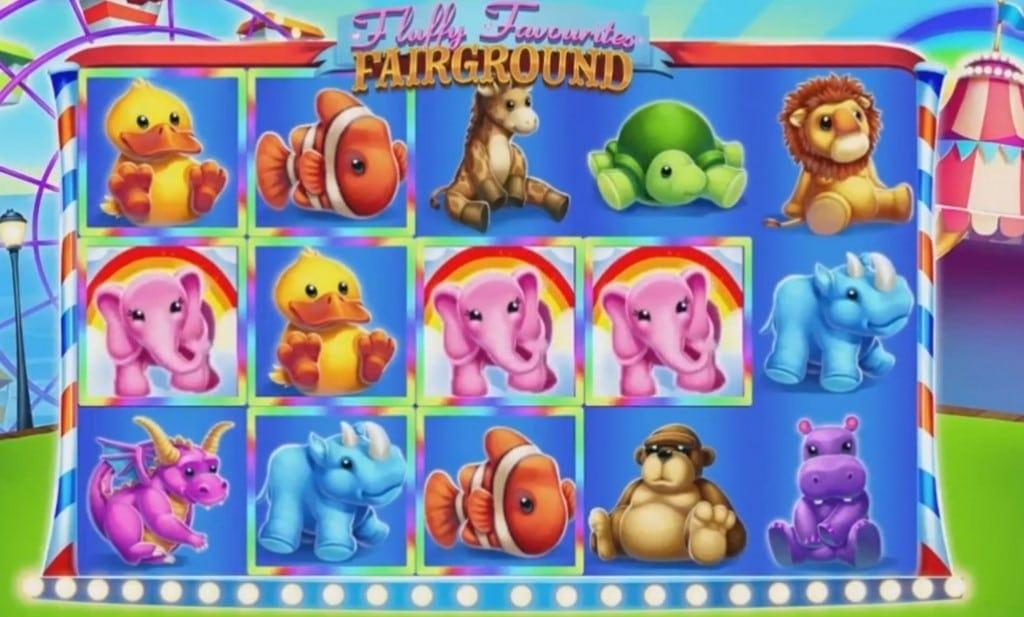 Fluffy Favourites Fairground Slots