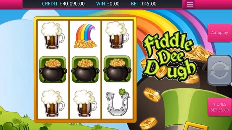 Fiddle Dee Dough Slot Game