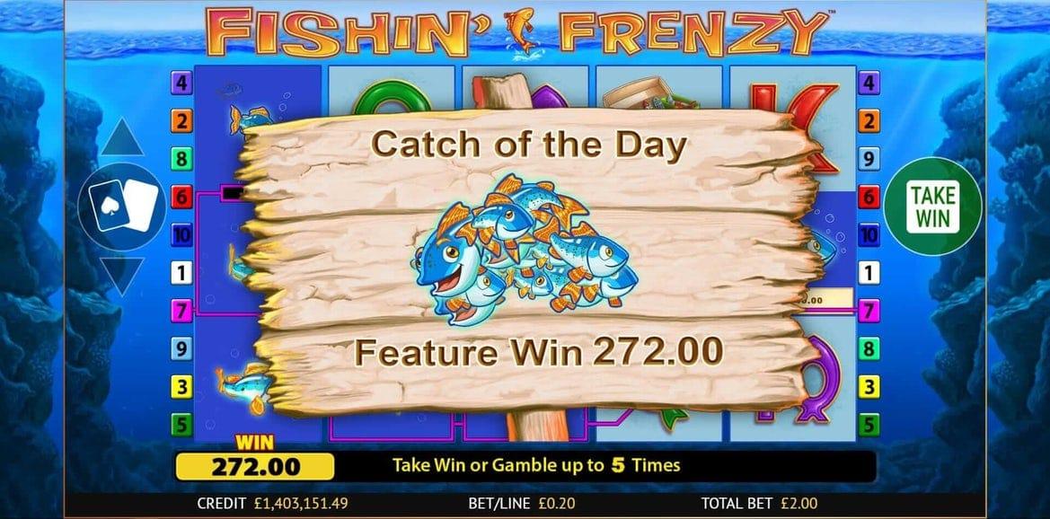 Fishin' Frenzy Slot Online