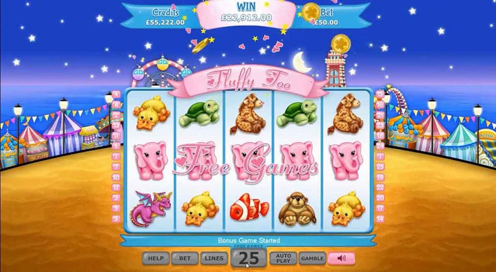 Fluffy Too Slots Online
