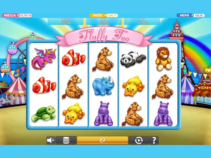 Fluffy Too Jackpot Slot Game