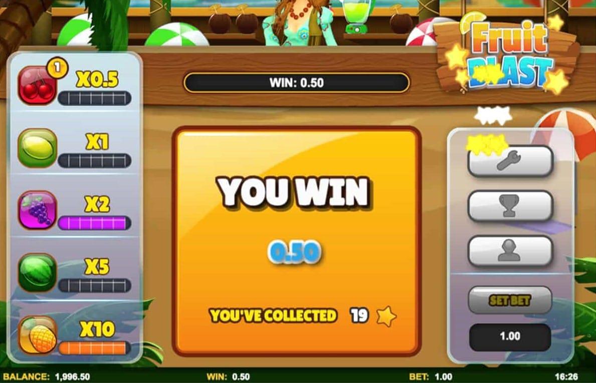 Fruit Blast Slots Win