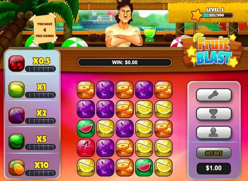 Fruit Blast Slot Gameplay