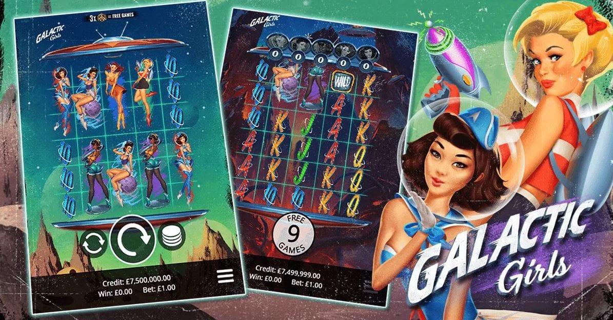 Galactic Girls Slots Racer