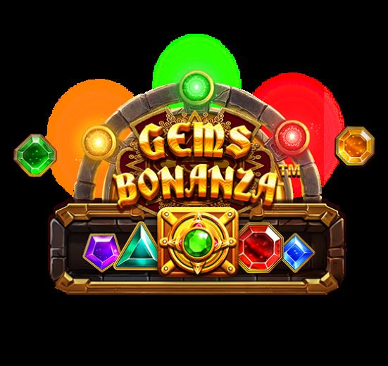 Gems Bonanza Slot Logo Slots Racer