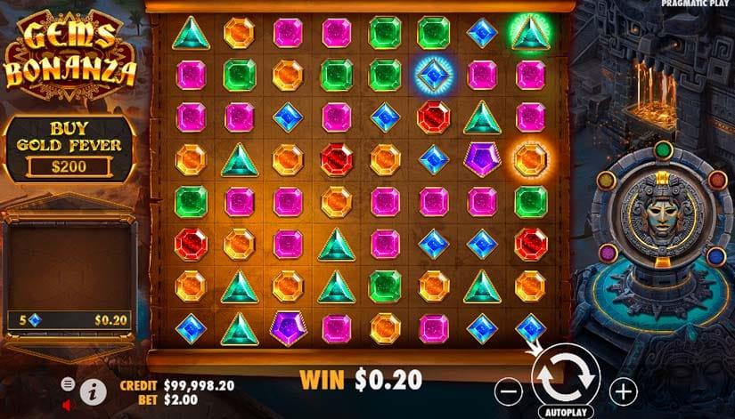 Gems Bonanza Slot Game Play