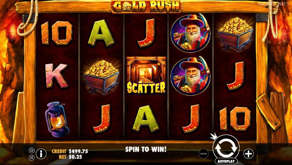 Gold Rush Gameplay Video Game