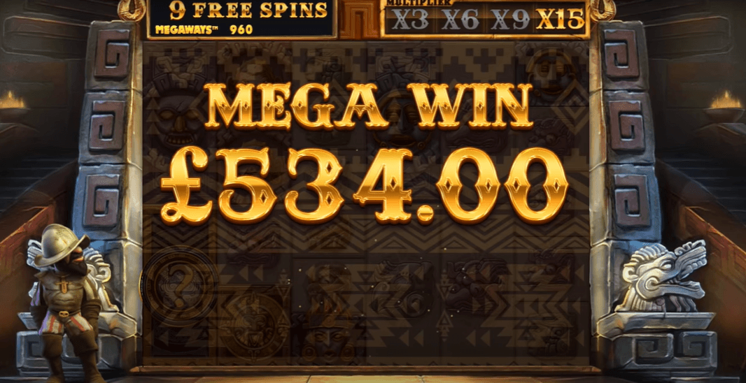 Gonzo's Quest Megaways Slot Game