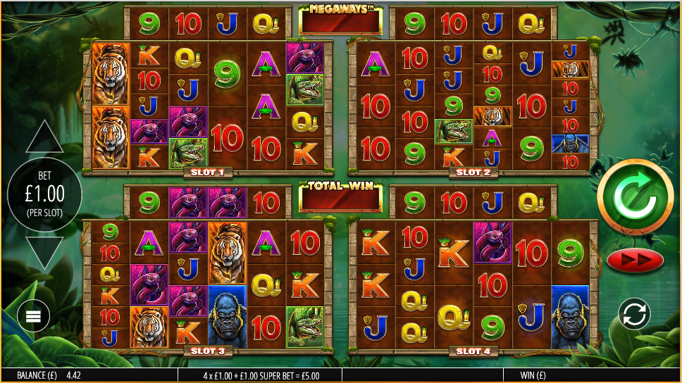 Gorilla Gold Megaways Slots Games