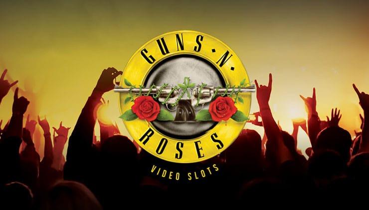 Guns N' Roses slot game logo