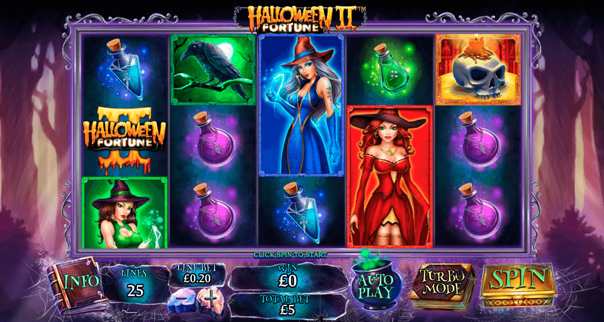 Halloween Fortune II Slot Gameplay