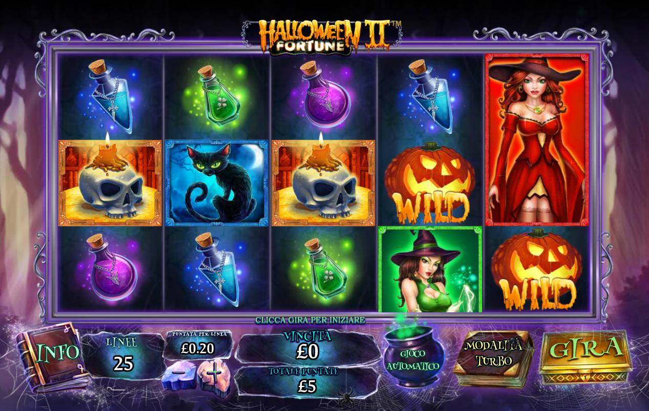 Halloween Fortune II Slots Reels
