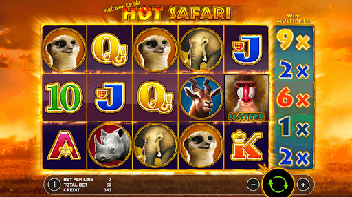 hot safari slots racer online slot