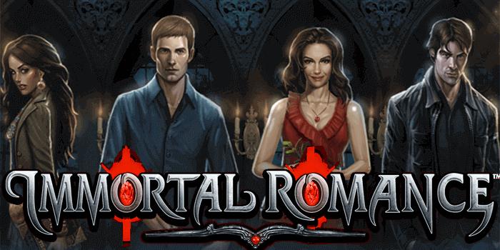 Immortal Romance logo gameplay
