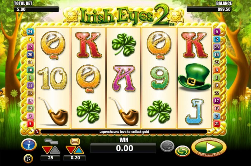 Irish Luck 2 slot game play