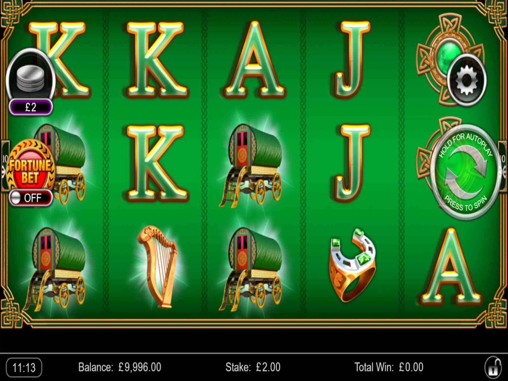 Irish Fortune Slots Game