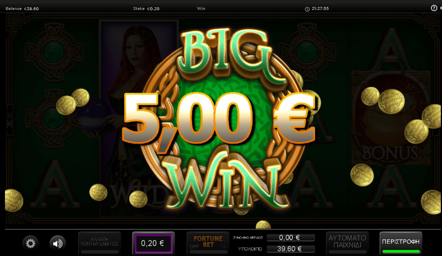 Irish Fortune Slot Big Win