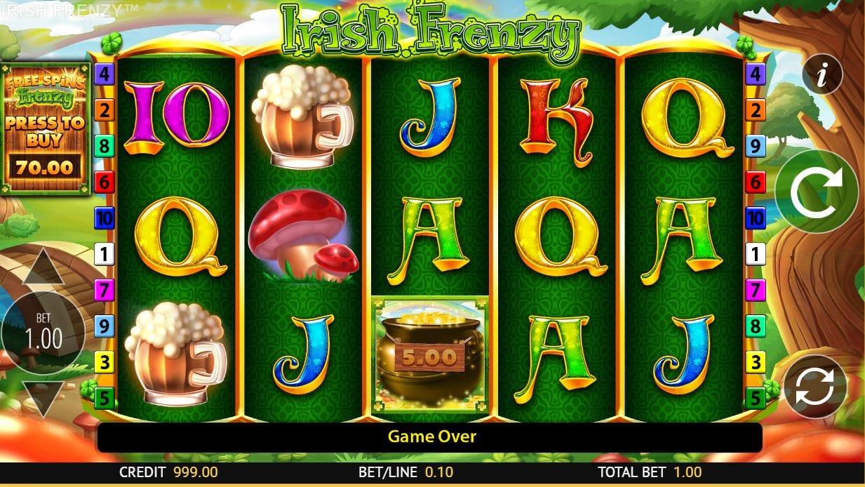 Irish Frenzy Slot Online