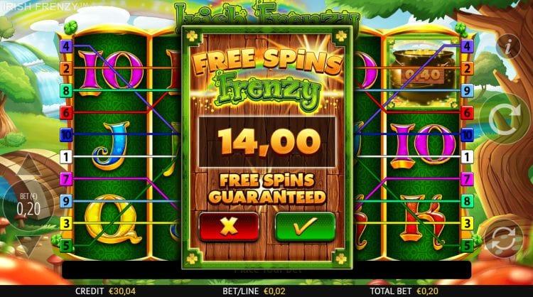 Irish Frenzy Slots Games