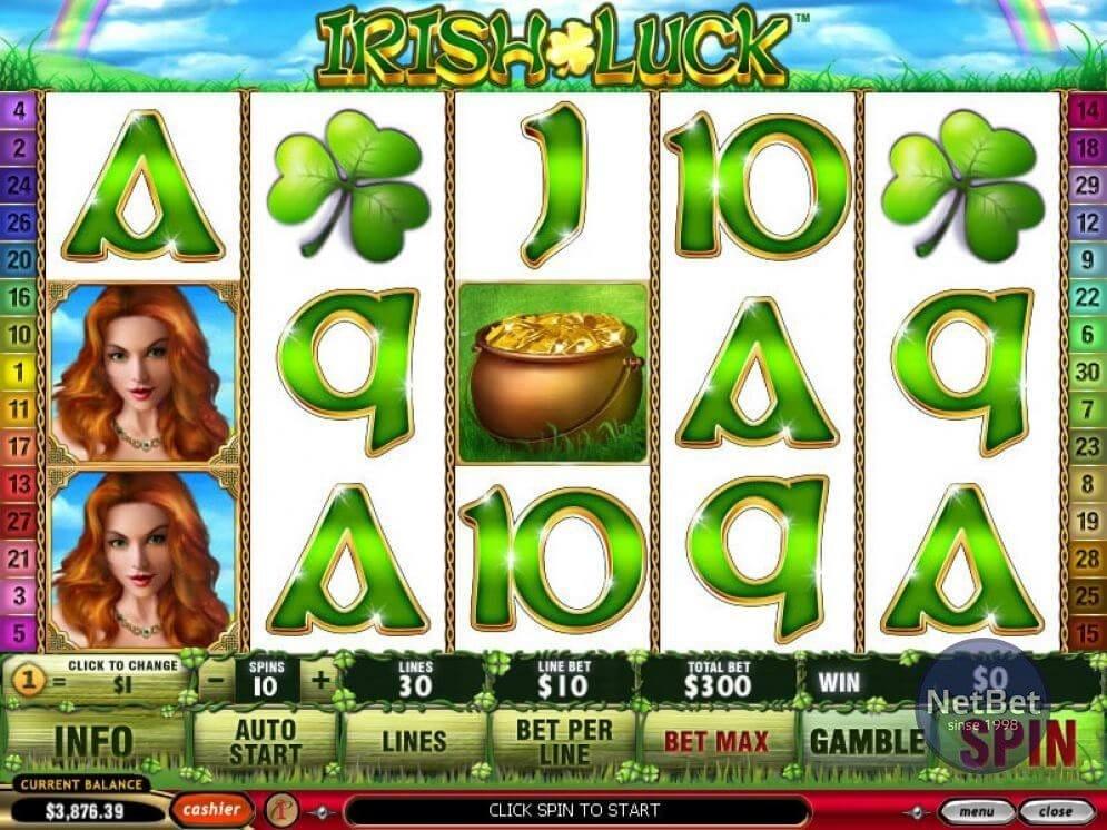 Irish Luck Slots Game