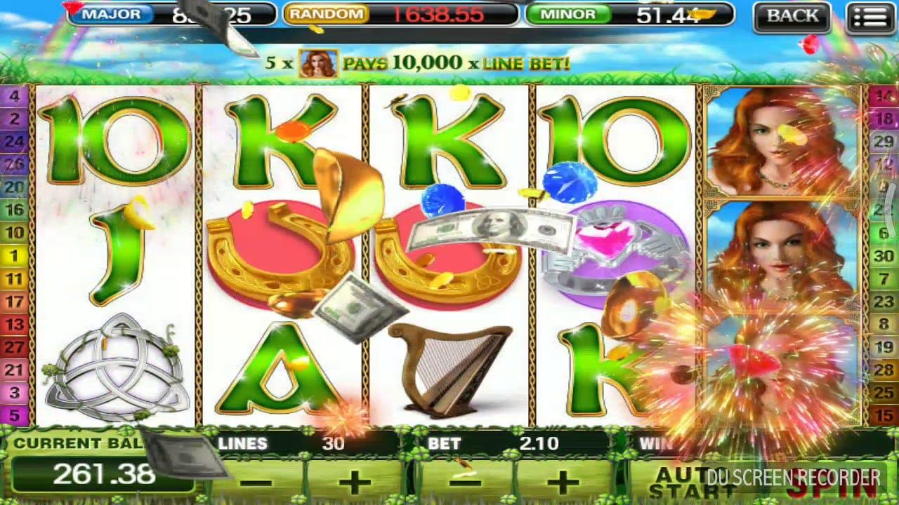 Irish Luck Slot Win