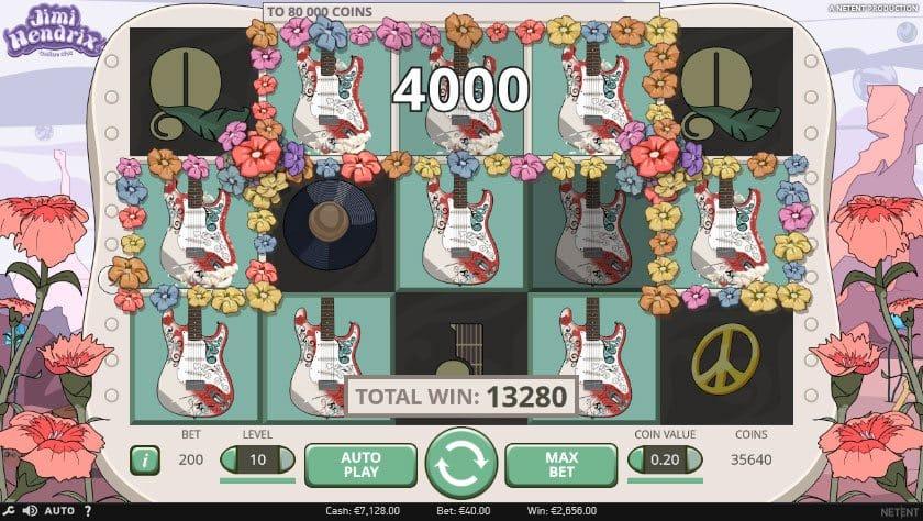 Jimi Hendrix Slots game