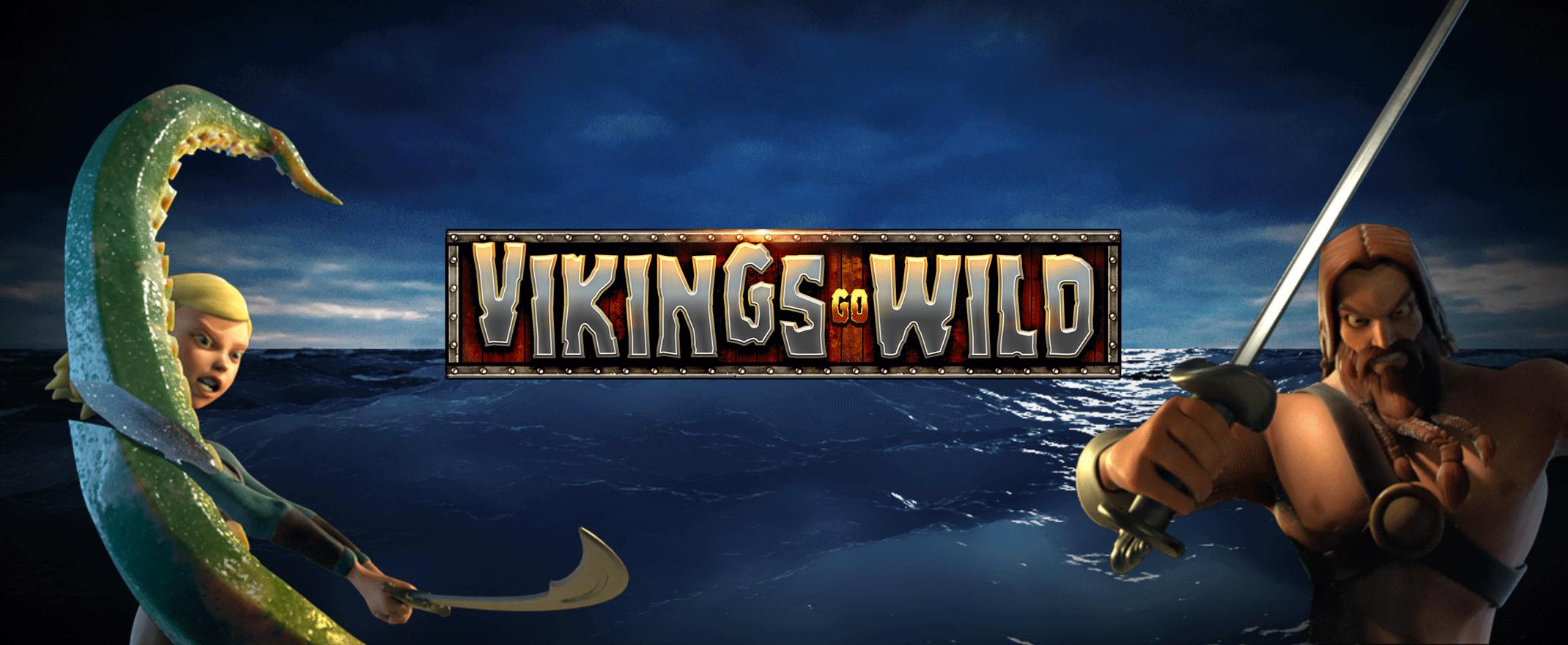 Vikings Go Wild slot logo